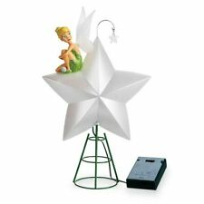 DISNEY STORE TINKER BELL Light-Up Holiday Christmas Tree Topper 2019 NEW IN BOX