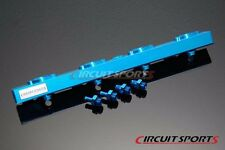 Circuit Sports Aluminum Side Feed Fuel Rail Kit For NISSAN S13 SR20-DET (RWD)