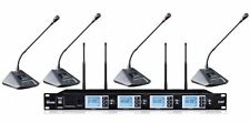 4 channel wireless microphone for conference