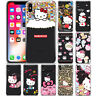 Cute Hello Kitty Ribbon Pattern Phone Case Cover For iPhone Huawei OnePlus