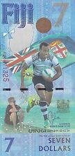 Fiji, 2017 7 Dollars Pnew Rugby Commemorative (Gem Unc)