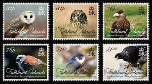 FALKLAND ISLANDS  2016, BIRDS OF PREY, 6v., MNH