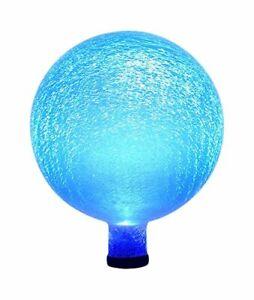Achla Designs Celestial Orb Solar 10-Inch Gazing Globe Ball Blue Lapis