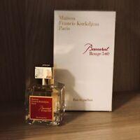 Maison Francis Kurkdjian Baccarat Rouge 540 Eau de Parfum 2.4 Oz. 100% AUTHENTIC