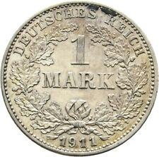1 Mark Kaiserreich 1911 G Silber 356