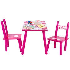 Kindersitzgruppe Kindertisch mit 2 Stühlen Kindermöbel Kindersitzgarnitur