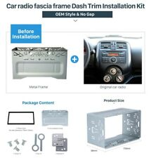 DOUBLE 2 DIN CAR STEREO RADIO DASH INSTALL MOUNTING INSTALLATION KIT