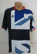 GREAT BRITAIN TEAM GB 2012 HOME FOOTBALL SHIRT SOCCER JERSEY ADIDAS OLYMPIC (L)