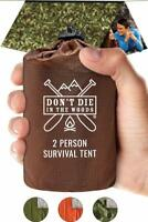 Don'T Die In The Woods World'S Toughest Ultralight Survival Tent • 2 Person My
