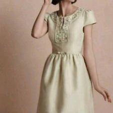 Anthropologie Bhldn Hitherto Trauzeugin Strandesamt Kleid US6 (DE 36)700 $