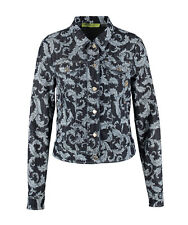 VERSACE JEANS Queens Arabesque Denim Jacket BNWT