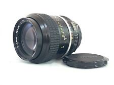 Nikon AI-S 105mm f/2.5 Prime Manual Focus Lens for Nikon SLR Cameras - JS 096