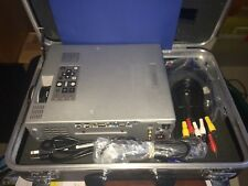 Mitsubishi X70UX LCD Projector - Case, Manual and Cables