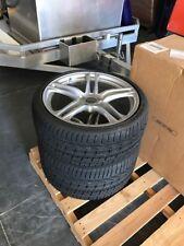 "NEW GENUINE OEM AUDI R8 V10 V8 19"" 2008-2014 WHEELS AND PIRELLI P-ZERO TIRES"