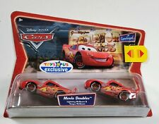 LIGHTNING McQUEEN MOVIE DOUBLES DISNEY CARS TONGUE TOYS R US DIE-CAST MOSC 1:55