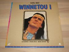 WINNETOU I LD LASERDISC - LEX BARKER / PIERRE BRICE / PAL in NEU OVP MINT