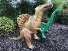 Inflatable Brachiosaurus Spinosaurus Dinosaur Jurassic Toy Party Gift Kids