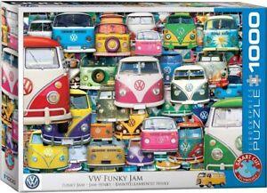 Volkswagen Funky Jam 1000 piece jigsaw puzzle 680mm x 490mm (pz)