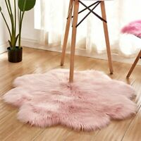 Antiskid Soft Faux Fur Carpets Area Rugs Living Room Bedroom Floor Mats Decor