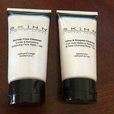 Skinn Dimitri James 2 Cleanser AM PM Exfoliating Face Wash Olive Mask Remover