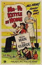 MA AND PA KETTLE AT HOME Movie POSTER 27x40 Marjorie Main Percy Kilbride Alan