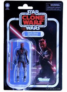 2021 Hasbro Star Wars Vintage Collection The Clone Wars Darth Maul (Mandalore)