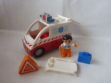 LEGO Duplo Krankenwagen - Set 4979 mit Blaulicht & Sound - Sanka - Notarzt- TOP!