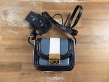 LANVIN Paris tri-color small Lala crossbody shoulder bag - NWT