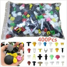 400 x Car Door Trim Panel Clip Fastener Bumper Rivet Retainer Push Engine Cover