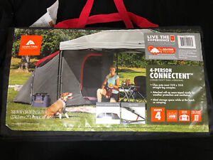 Ozark Trail 4-Person ConnecTent Straight-leg Canopy Sold Separately 4-Person NEW