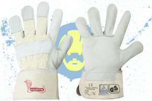 120 Paar Lederhandschuhe Arbeitshandschuhe Rind Vollleder Rindleder Gr.8-12 NEU