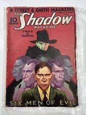 Shadow, 1933 Feb 15.      Pulp