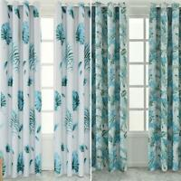 Blackout Curtains Tropical Print Living Room Bedroom Windows Drapes Curtain