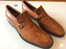 PATRICK COX MENS COGNAC LEATHER SLIP ON LOAFERS SIZE 9.5 $ 62.00