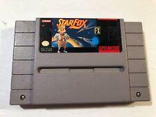 Super Nintendo SNES Starfox Cartridge Only **TESTED & WORKS**