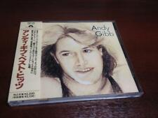 ANDY GIBB self titled CD 1st press Japan POCP-1192 w/OBI Bee Gees Barry Robin