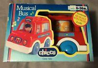 Chicco aufziehbarer Musical Bus mit Sound - Aufzieh-Spielzeug - ab 6 Monaten