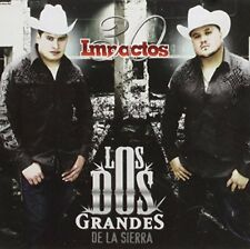 Los Dos Grandes de la Sierra 30 Impactos CD New Sealed