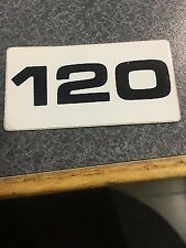 MerCruiser Out Drive 120 Decal