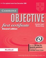 Objective First Certificate Workbook with 100 Tips for Spanish Speakers: 100 tip