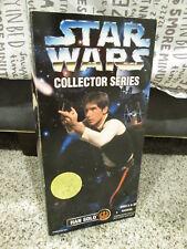 "1996 Kenner Star Wars 12"" Collector Series Action Figure Han Solo 27725 NIB"