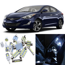 13pcs White Interior LED Light Package Kit for Hyundai Elantra 2011-2015