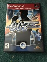 James Bond 007 in Agent Under Fire (PS2 Playstation 2 Video Game Complete)great