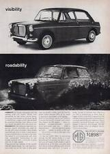 1963 MG Sports Sedan British Motor Corporation PRINT AD
