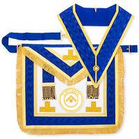 Lambskin Craft Provincial London Grand Rank Full Dress Apron Collar Regalia LGR