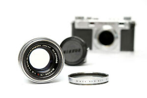 Very rare Nikon Nippon Kogaku Nikkor-H.C 5cm 1:2 lens
