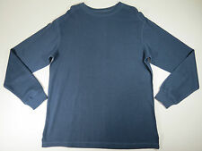 Shirt mens Big 2X Roundtree & Yorke  Blue Crewneck Ribbed Knit Long Sleeve