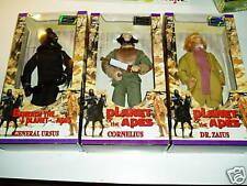 PLANET OF THE APES ACTION FIGURES HASBRO 1998 LOT OF 3