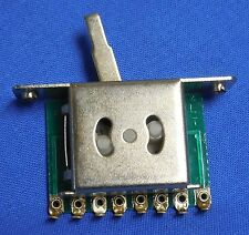 NEW 5 POSITION ELECTRIC GUITAR PICKUP SWITCH FOR WASHBURN OR FENDER GUITAR
