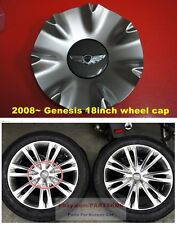For 2008 ~ 2013 Hyundai Genesis 18 inch wheel center cap 4pcs 1set Genuine part